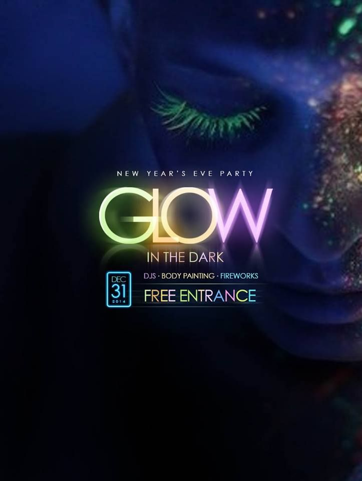 "Come to Le Grande Bali Uluwatu hotel for the ""Glow in the Dark party"", inclusive of DJs, body painting, fireworks, drinks, and many more."