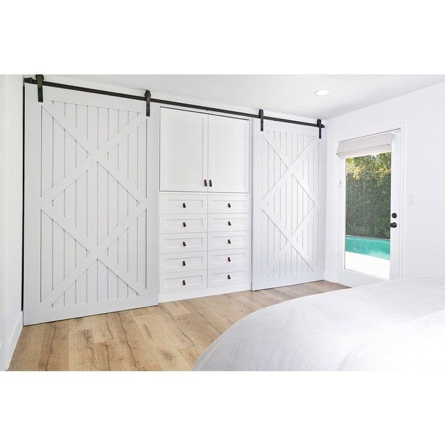 40 best wardrobe closet images on pinterest wardrobe for Sliding barn doors for patio
