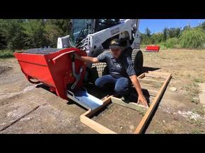 Skid Steer Cement Mixer - Eterra BMX-250 and the Mix & Go Line! - YouTube
