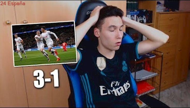 REACCIONES DE UN HINCHA Tottenham vs Real Madrid 3-1 [ByDiegoX10]