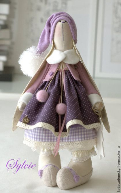 Juguetes de animales, hecho a mano. Masters Feria - hecho a mano. Silvia Comprar Bunny -. Juguete textil 38 cm hecho a mano.