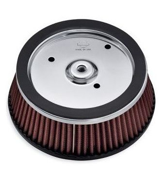 MOTORCYCLE ACCESSORIES - HARLEY DAVIDSON SCREAMIN' EAGLE HIGH-FLO K&N AIR FILTER ELEMENT - 29400020