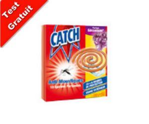 Tester des Produits : Découvrez CATCH Spirales anti-moustiques