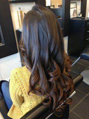 brunette color fade