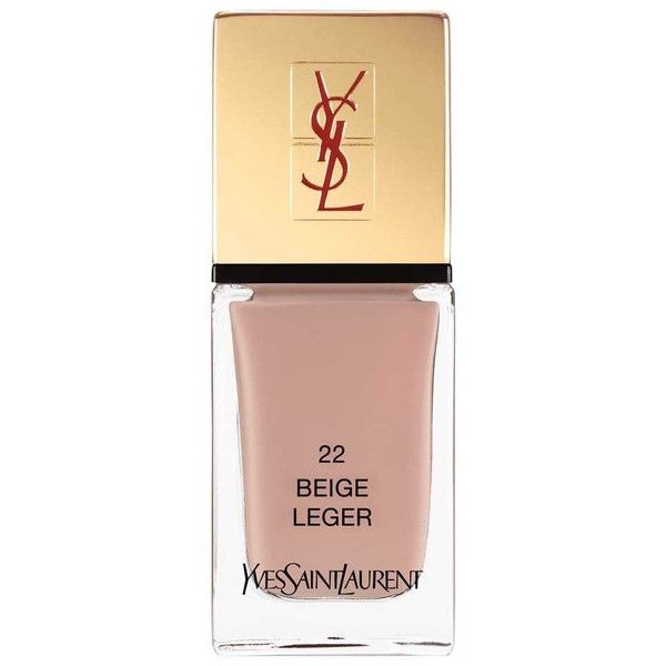 Yves Saint Laurent Beauty Women's La Laque Couture (€24) ❤ liked on Polyvore featuring beauty products, nail care, nail polish, nails, makeup, beige, filler, yves saint laurent, shiny nail polish and yves saint-laurent nail polish