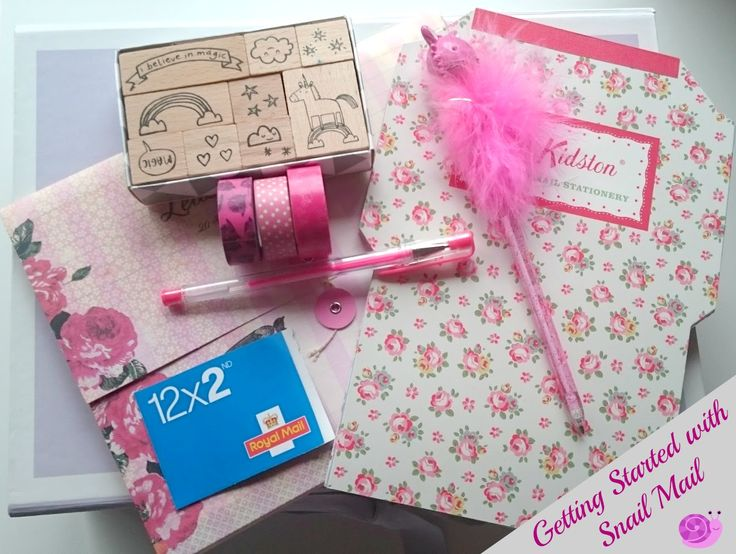 Getting Started with Snail Mail, what you'll need and how to find people to write to. Love pen pals and happy mail!