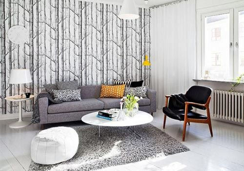Gray And White Decoration Of Harmony | Decoration Ideas