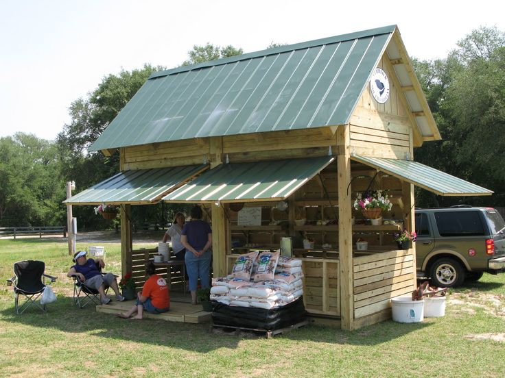 Awnings on our stand would be great! Help keep the weather out when not in use.