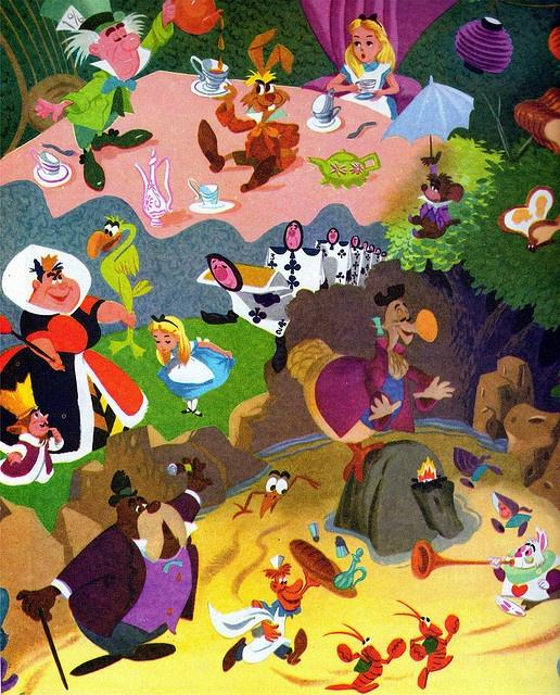 Alice In Wonderland Disney Characters: 955 Best Images About ALICE IN WONDERLAND On Pinterest