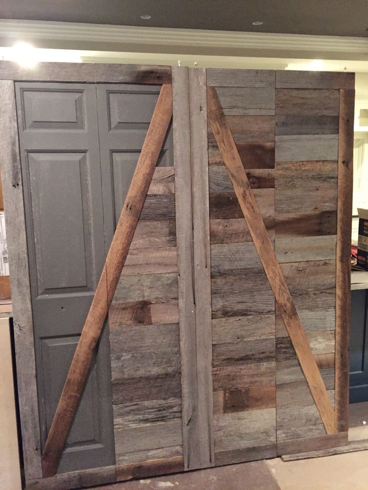17 Best Ideas About Barn Door Closet On Pinterest