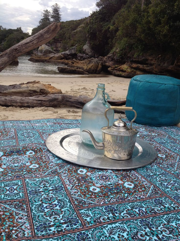 Our events are always adorned with Wandering Folk picnic rugs #cleancoastcrew