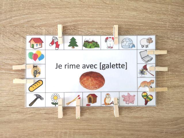 Fiches D Activites Galettes Des Rois Jeux De Rimes Galette Des