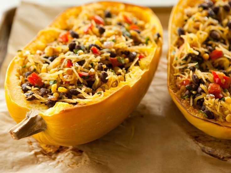 Spicy Spaghetti Squash With Black Beans Whole Foods
