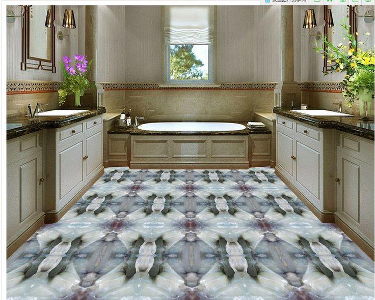 Custom Photo self-adhesive 3D floor 3D stereoscopic relief floor PVC waterproof floor 3D wall murals wallpaper floor #Affiliate