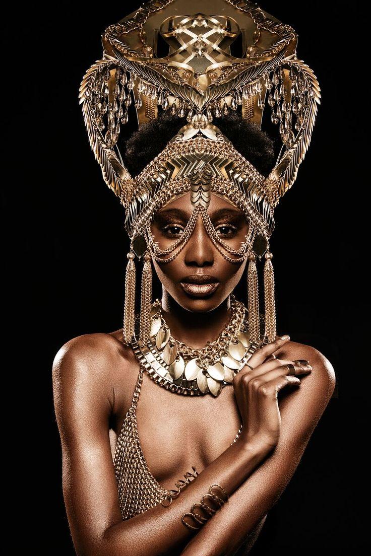 богиня у негритянки
