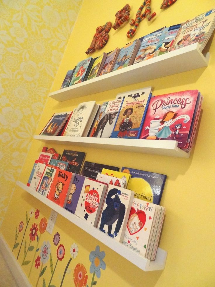 Read wall with @IKEA USA picture ledges - #projectjunior