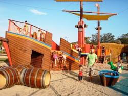Children's playground across from Australia Fair
