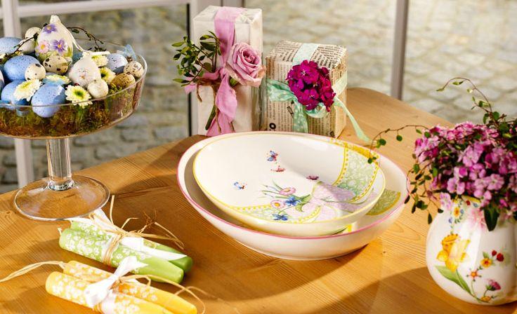 Easter gifts: 10 designer ideas, Spring Fantasy tray, Villeroy & Boch, 2016