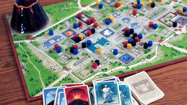 Board game: One does not simply walk into Vesuvius - The Downfall of Pompeii (2nd Ed.) - GAMING TREND