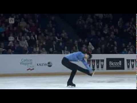 2013 Finlandia Trophy - Yuzuru Hanyu (JPN) Short Program - YouTube