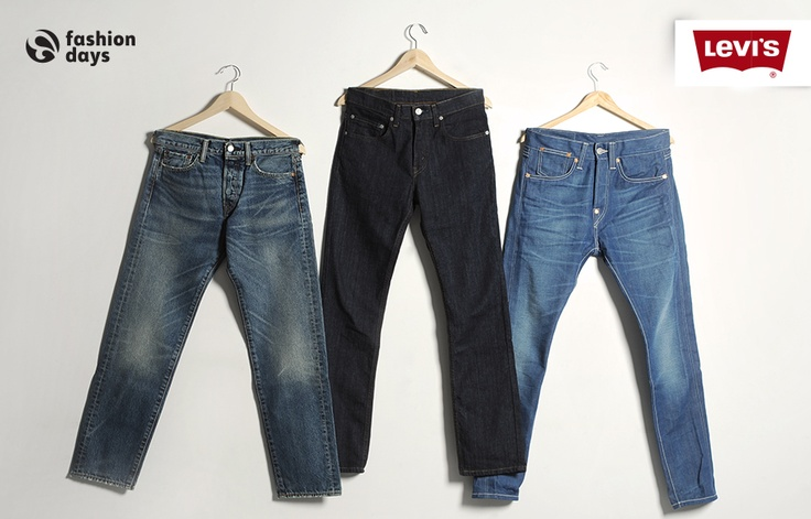 Levi's. Men Choice. Those 3 basics we are all talking about.