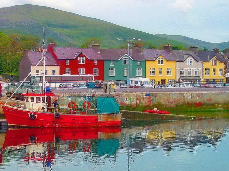 Dingle, Ireland. The most beautiful little town. Oh, to go back.