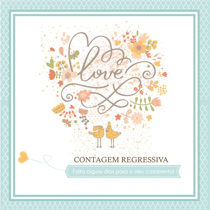 Specialgifts by LESCRAP PARA AS NOIVAS ANSIOSAS ... CONTAGEM REGRESSIVA