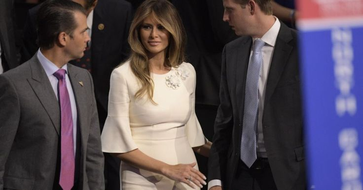 Melania Trump's website deleted after questions raised about her degree... Is there anything that comes out of a Trump's mouth that is not a lie ?! ..... http://www.usatoday.com/story/news/politics/onpolitics/2016/07/28/melania-trump-website-college-degree/87665500/