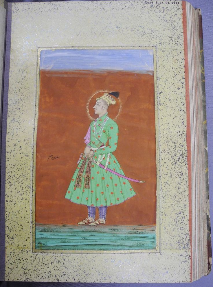 Prince Mu'azzam (later Bahadur Shah I), son and successor of Aurangzeb