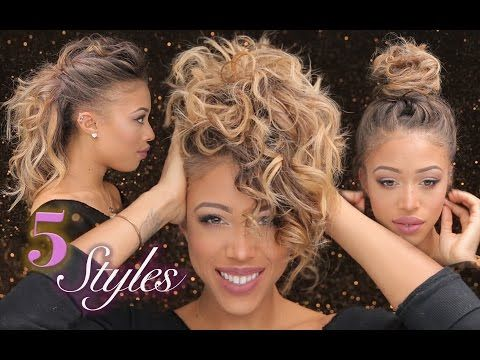A video for easy styles to maintain my straight hair!