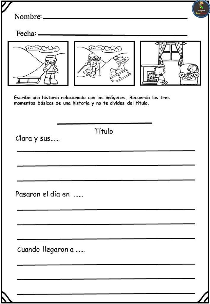 Fichas Para Trabajar La Escritura Creativa Creando Historias Escritura Creativa Escritura Practicas Del Lenguaje