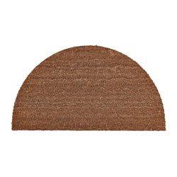 Enkel att hålla ren - bara att dammsuga eller skaka. Antiglidmaterial på undersidan håller dörrmattan på plats och minskar halkrisken.