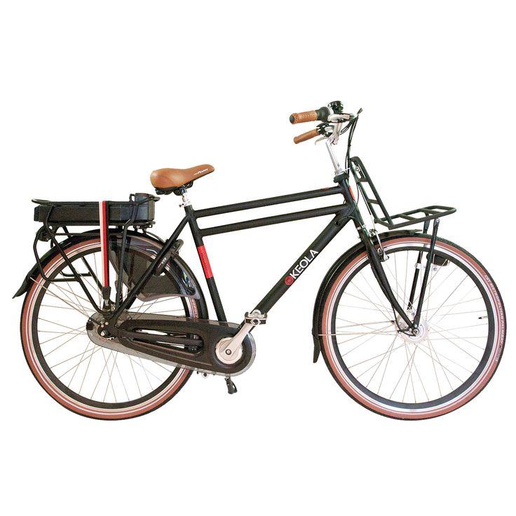 Keola Elektrische transportfiets Holland heren groen 56cm 360 Watt  Description: De Keola Holland is een luxe elektrische 28 inch heren transportfiets met een lichtgewicht aluminium frame met dubbele bovenbuis en een framehoogte van 56 centimeter. Uitgevoerd met een stille voorwielmotor. De accu is krachtig en betrouwbaar want met zijn 36 volt en 10 ampère (360 Watt) fiets je in de eco-stand 60 tot 80 kilometer. Halfords Bike Lease geeft je de mogelijkheid een elektrische fiets te leasen in…