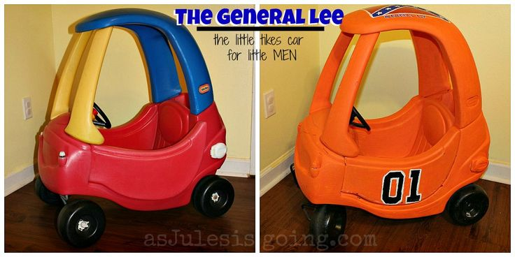The General Lee Little Tikes Car {How-to} - So fabulous!!