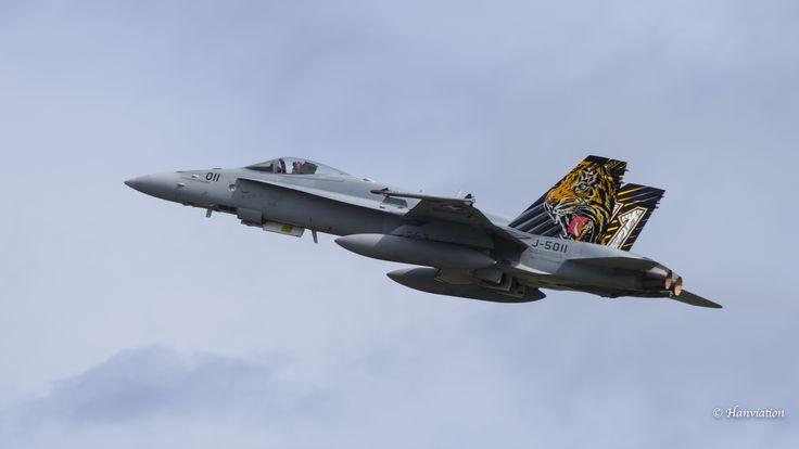 * J-5011 * FA-18C-49-MC Fliegerstaffel 11 * 08-06-17 Landivisiau *