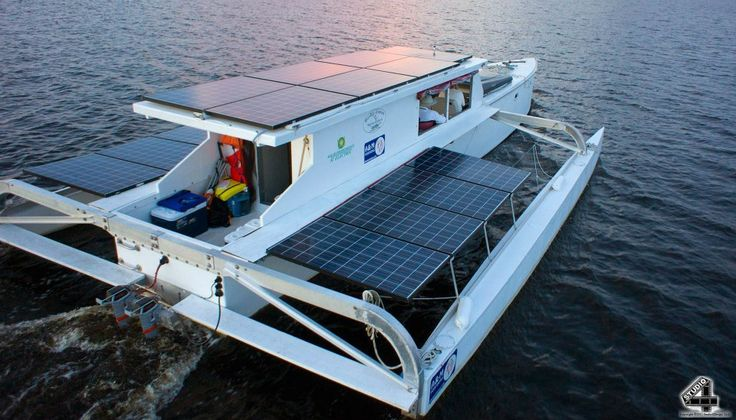 17 Best Images About Solar Powered Catamarans On Pinterest