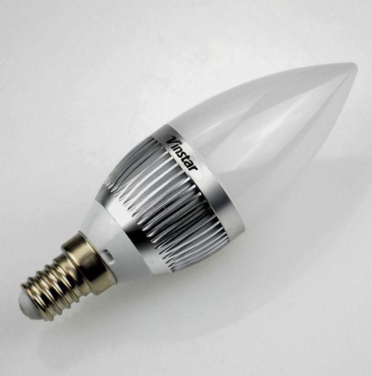 LED E14 Kerze / 220 Volt / 3,7 Watt /  Licht-Farbe Warmweis Dimmbar !