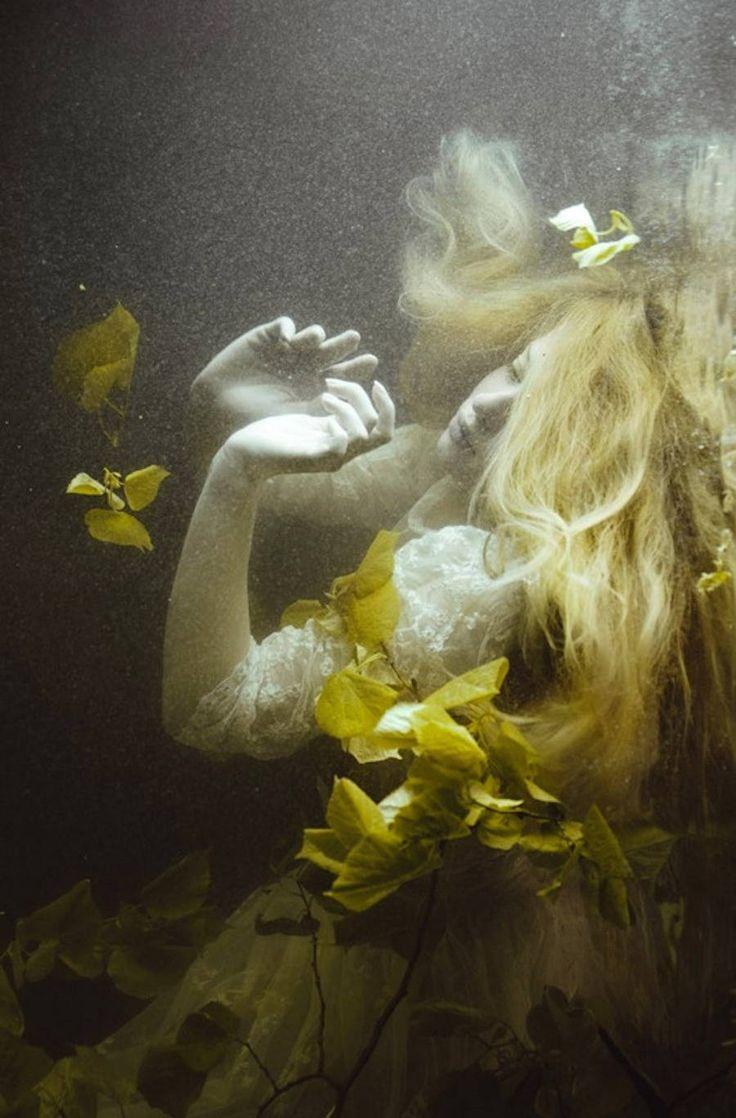 Dark Underwater Women Portraits