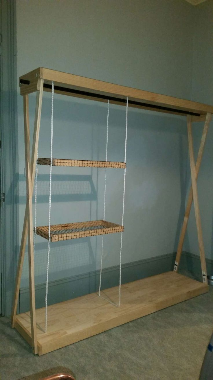 clothes racks diy clothes shelf container houses display stands storage shelves carpenter closets entryway archive