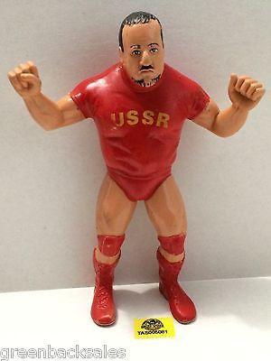 "(TAS005081) - WWE WWF WCW nWo Wrestling LJN 8"" Action Figure - Nikolai Volkoff"