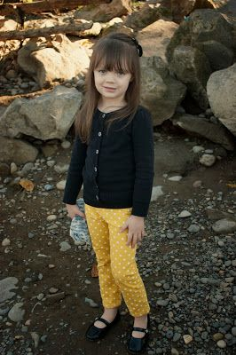 Fall fashion for little girls. Could also translate for adults!