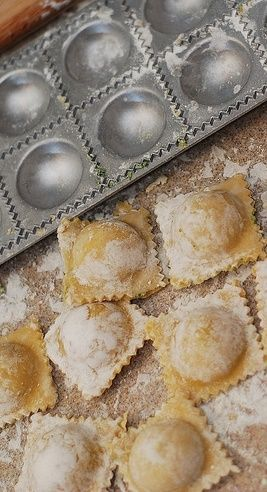 How to make ravioli from scratch - step-by-step photos and instructions! Italian food, Italian pasta recipes