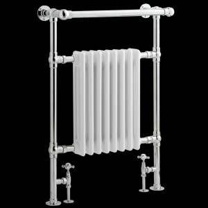 Sèche-serviettes radiateur traditionnel 940 x 635 mm - 1033 watts - Image 2