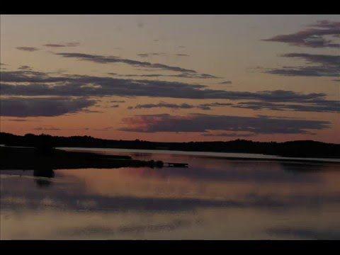 Fotos de: Suecia  - Puesta de sol - Alrededores de Tullgarns Slott