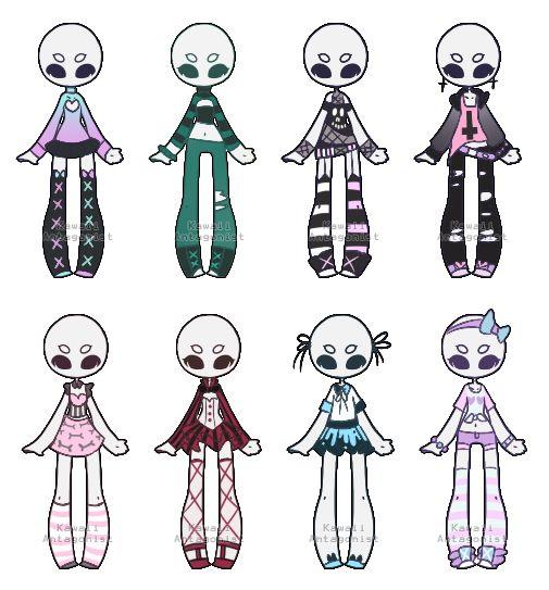 Pastel/grunge wardrobe 4 -closed by kawaii-antagonist | Drawing | Pinterest | Pastel grunge ...