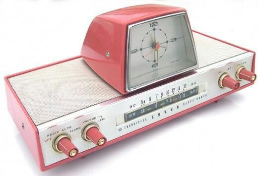 1960's radio! Amazing!