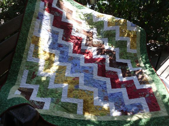 1000+ images about rail fence quilts on Pinterest | Design ...