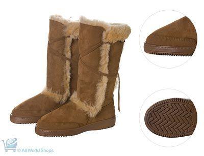 Artica Mid-Calf Sheepskin Boots - Canterbury | Shop New Zealand