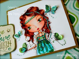 Hair - E37,E99,E33 Skin - E18,E11,E02,E00,E000 Dress - BG18,BG15,BG11,BG01,BG000 Green - G99,G94,YG11 Scrappin Stampers