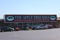 Apple Tree Mall...this was one of our favorite antique stores that helped us find neat little accessories to add in each cabin!  Thank you Apple Tree!